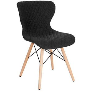 Flash Furniture Home & Office Chairs, Black Fabric