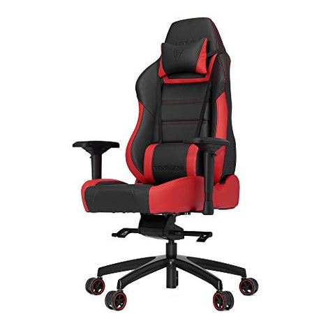 VERTAGEAR P-Line 6000 Gaming Chair, X-Large, Black/Red
