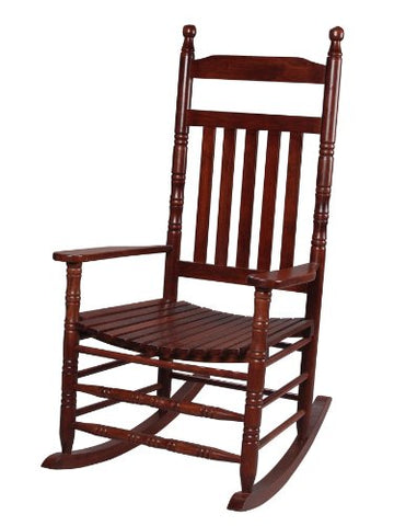 Gift Mark 3500C Adult Extra Tall Back Rocking Chair, Cherry