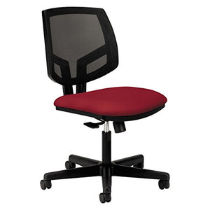 HON The Company HON5711GA42T Volt Task Mesh Computer Chair for Office Desk, Crimson (H5711), Fabric