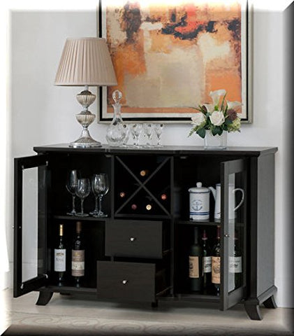Cappuccino-Multi-Storage-Dining-Buffet.-This-Combo-of-Cabinets,-Drawers-and-Wine-Bottle-Slots-Ensures-You-Have-Enough-Space-In-Your-Dining-Room-Area-For-Your-Favorite-Plates-Or-Spirits.