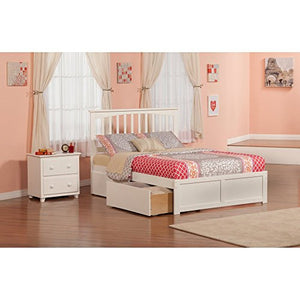 Mission Bed Set Twin UBD Nightstand - UBS872217