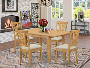 5 Pc Dinette set - Kitchen dinette Table and 4 Kitchen Chairs