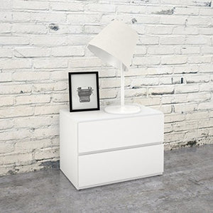 Nexera Night Stand , White