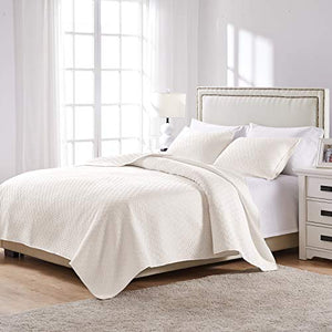 Greenland-Home-Vashon-Full/Queen-Quilt-Set,-Ivory
