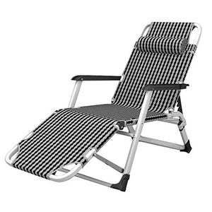 Wyyggnb Sun Lounger | Folding Reclining Garden Chair | Foldable Deck Chairs Sunbed for Child Adult | Patio Pool Comfort Relaxer Chair