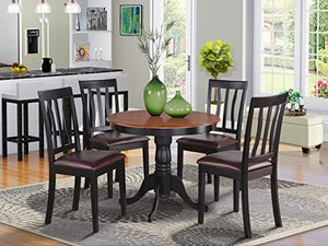 5 PC Kitchen nook Dining set-small Table as well as 4 Kitchen Dining Chairs