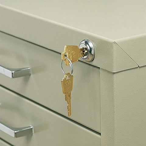 Safco 4981 Lock Kit for 5 Drawer File Cabinets