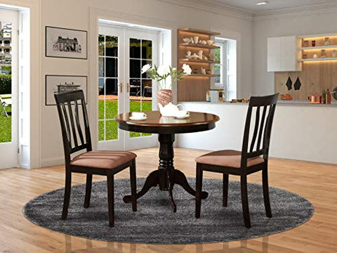 3 PC Kitchen Table set-breakfast nook with 2 Kitchen Dining Chairs