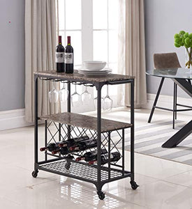 Kings-Brand-Furniture---Antonia-Kitchen-Serving-Cart-Bar-Buffet-with-Wine-Rack-&-Glass-Holder