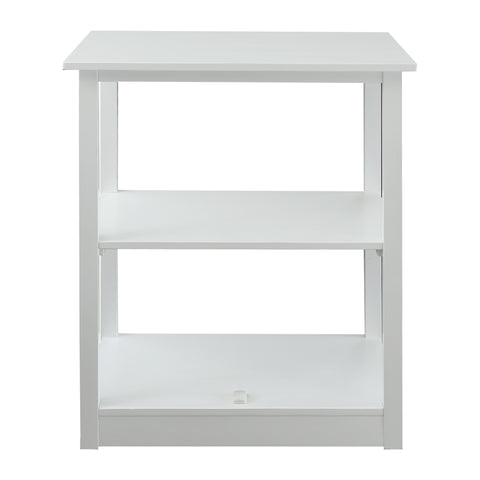 Adams 3-Shelf Bookcase with Concealed Sliding Track, Concealment Furniture
