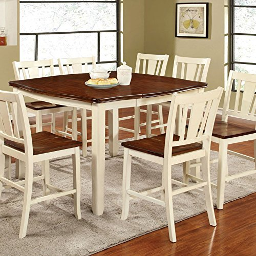 247SHOPATHOME dining-room-sets, 7-Piece, White and Cherry