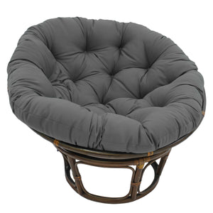 blazing needles twill solid papasan cushion