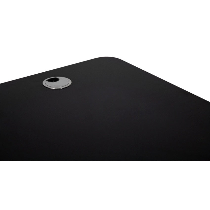 Autonomous SmartDesk - Curve Wood Top - Black