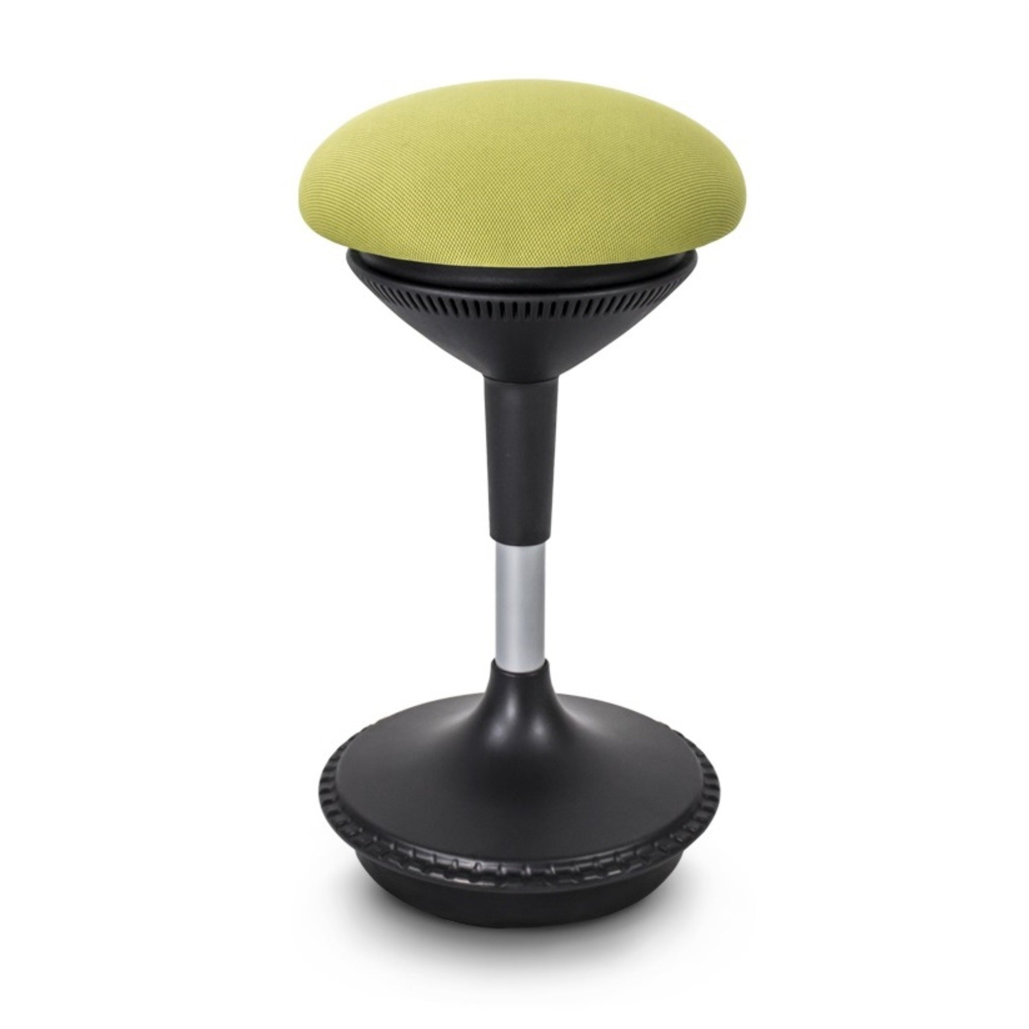 Green Mushroom Adjustable Height Office ErgoStool