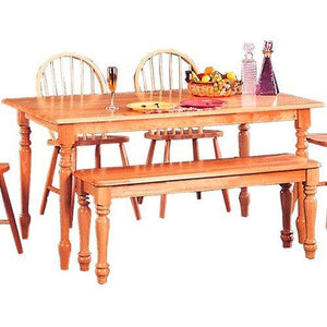 Coaster Home Furnishings 4361 Country Dining Table, Natural