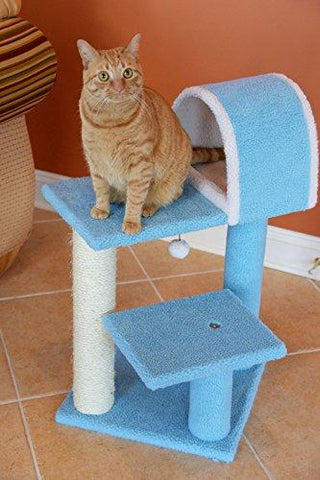 Armarkat Cat Tree Model B2903, Sky Blue