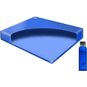 California King Free Flow Waterbed Mattress With A Premium Clear Bottle 4Oz Conditioner