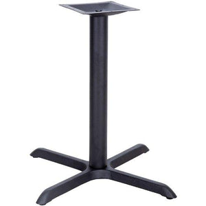 Flash Furniture 14 Restaurant Table X-Base, 33 By 33, Black