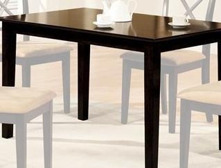 Melbourne Dining Kitchen Table In Espresso Finish By Furniture Of America