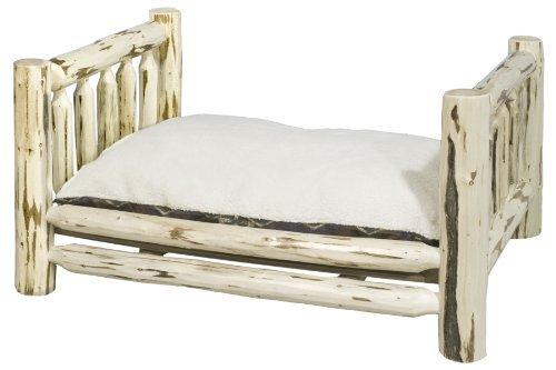 Montana Woodworks Collection Large Pet Bed With 30 By 40-Inch Mattress, Ready To Finish