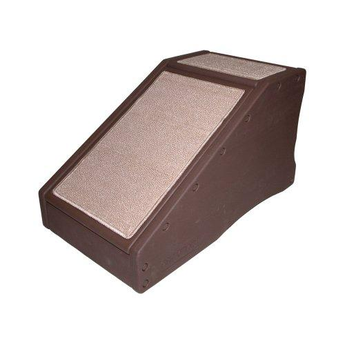Pet Gear Stramp Pet Stair Ramp Combo For Cats And Dogs, Chocolate