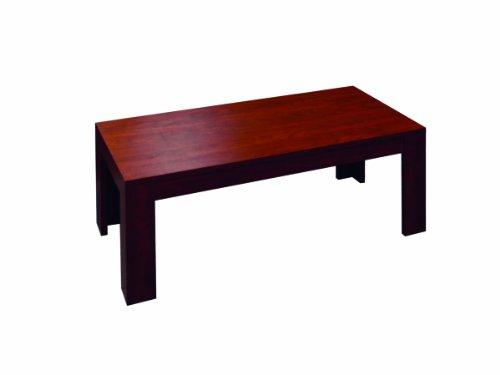 Boss N48-M 48-Inch By 22-Inch Mahogany Coffee Table