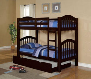 Acme 02556A Heartland Trundle, Espresso Finish