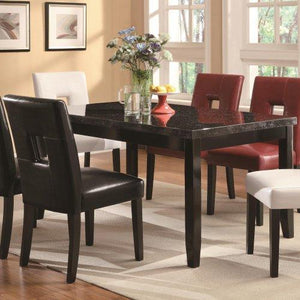 Coaster Home Furnishings Casual Dining Table Base, Cappuccino