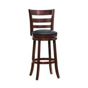 Homelegance 1144E-29S Swivel Pub Height Chair/Stool, Dark Cherry