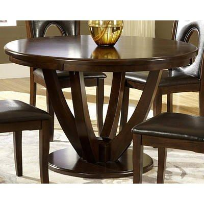 Home Elegance 2568-48 Vanbure Dining Table In Rich Cherry