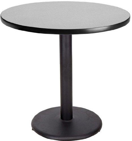 24 Inch Round Cafe Table Gray Nebula By Banquet Tables Pro
