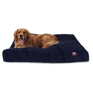 Azure Villa Collection Extra Large Rectangle Pet Dog Bed