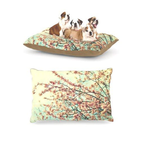 "Kess InHouse Sylvia Cook ""Take a Rest"" Fleece Dog Bed, 30 by 40-Inch"