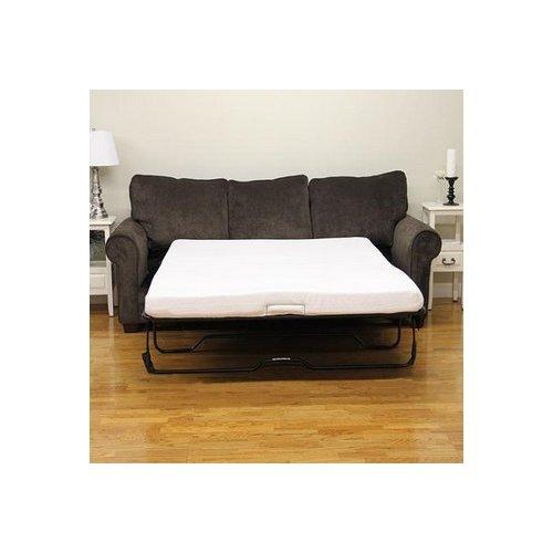 Modern Sleep 4-1/2' Sofa Bed Memory Foam Mattress. Replacement Sofa Bed Mattresses. Mattress Only. This Plush Yet Durable Sofa Bed Mattress Will Give Your Visitors A Comfortable Nights Sleep