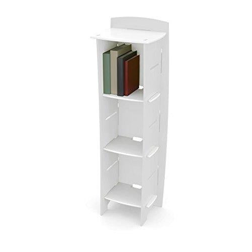 Legarã© Kids Furniture Classic Series Collection, No Tools Assembly 3-Shelf Bookcase, White
