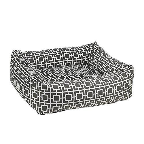Dutchie Diamond Micro-Velvet Dog Bed