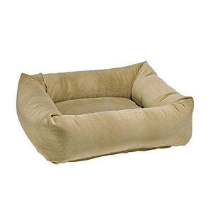 Dutchie Platinum Micro-Velvet Dog Bed