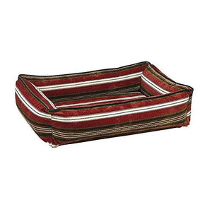 Urban Lounger Striped Diamond Microfiber Pet Bed