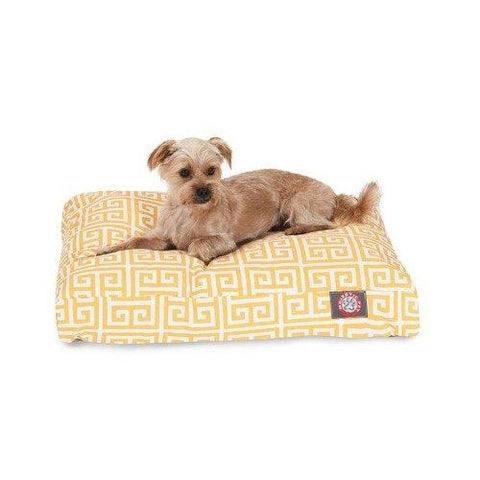 Majestic Pet Towers Rectangle Pet Bed - Orange - Medium