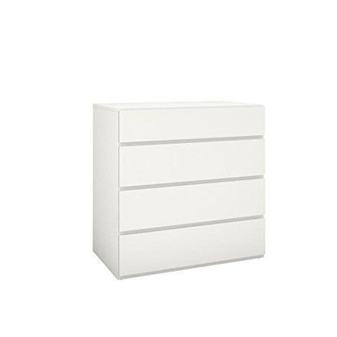 Nexera 223603 4-Drawer Chest, White
