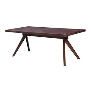 Kardiel Audrey Mid-Century Modern Dining Table, Deep Stained Ash