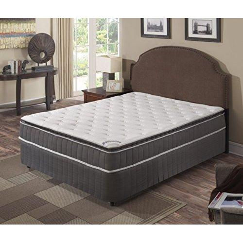 Continental Sleep Mattress,Pillow Top ,Pocketed Coil, Orthopedic Full Size Mattress , Acura Collection