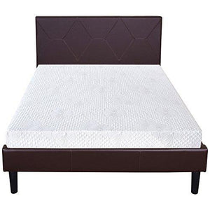 Olee Sleep 6 Inch Ventilated Multi Layered Memory Foam Mattress 06Fm01F