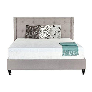 Irvine Home Collection 10-Inch Gel Memory Foam Mattress-Twin Size