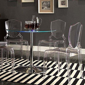 Homelegance Tron Led Round Dining Table