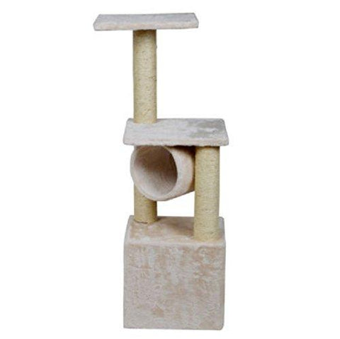 36 Scratching Post Pet Play : Deluxe Cat Tree 36 Condo Furniture Scratching Post Kitten Pet Play Toy House : Cat Tree Toy Scratch House