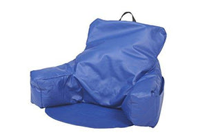 ECR4Kids Relax-N-Read Bean Bag Chair, Blue