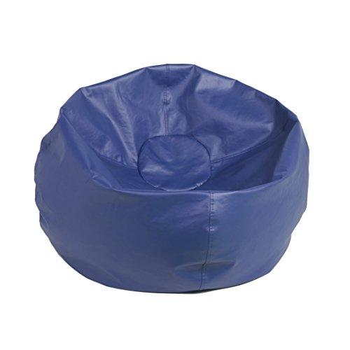 ECR4Kids Classic Bean Bag Chair, Junior 26, Blue