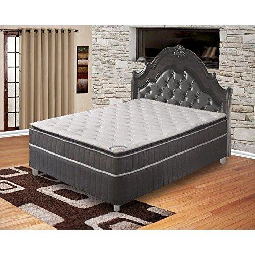 Spinal Solution Mattress,Pillow Top ,Pocketed Coil, Orthopedic Full Size Mattress With 5-Inch Split Box Spring, Acura Collection